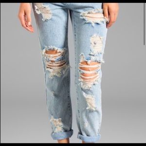 "One teaspoon ""Awesome baggies"" Jeans"